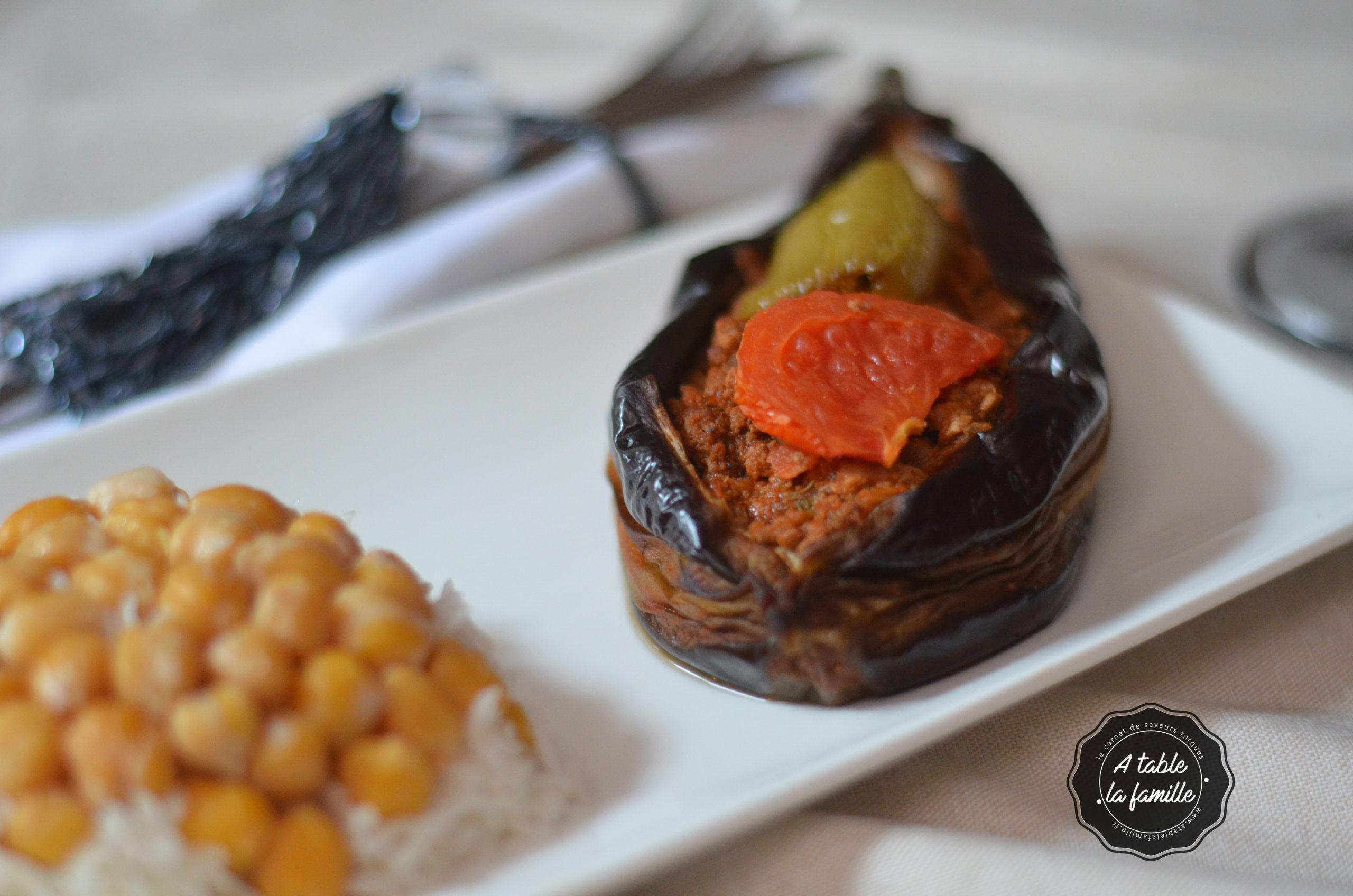 Karniyarik aubergine farcie