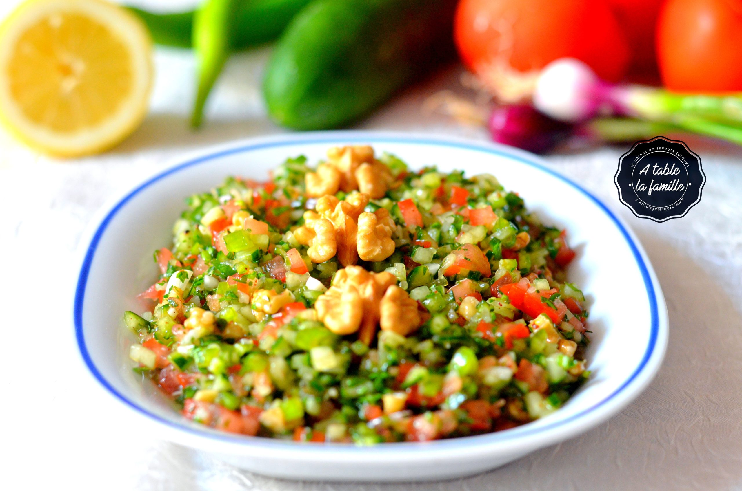 Mezze gavurdagi salatasi